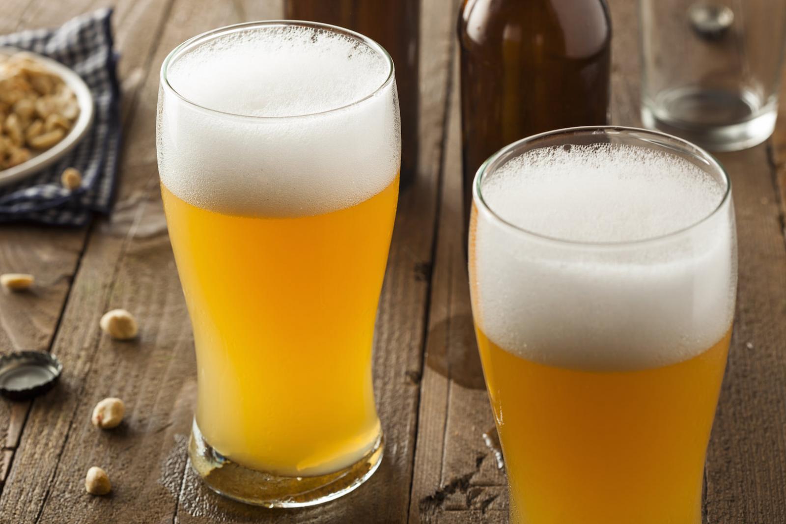 Ein köstliches Bier in