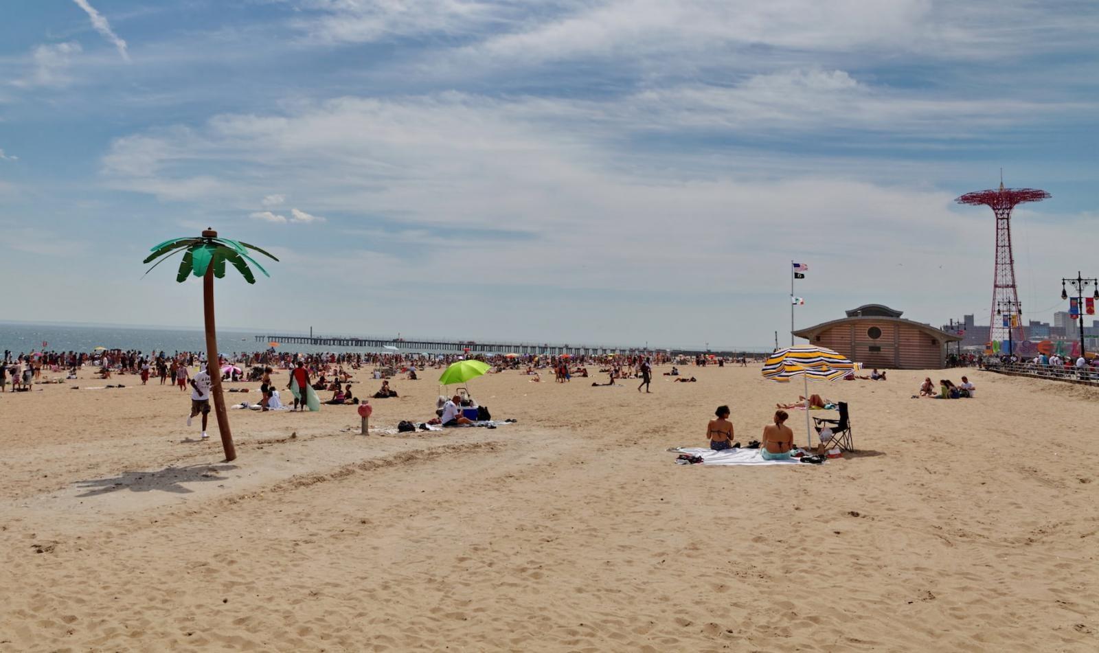 Brighton Beach Strandabschnitt