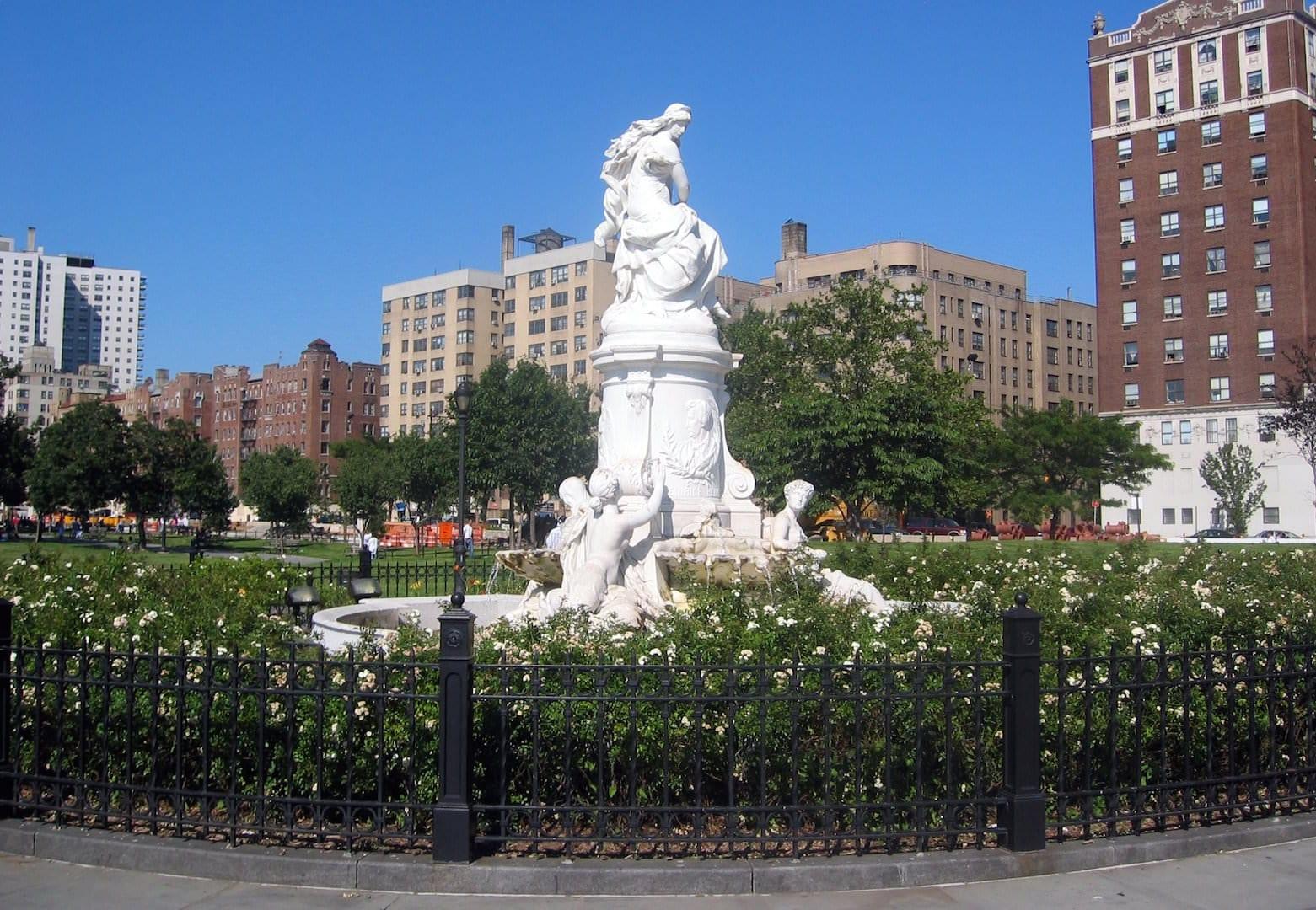 Die Heinrich Heine Statue in der Bronx / Bild: Wally Gobetz / Flickr.com