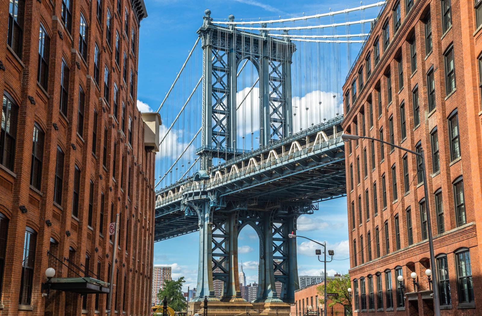 Washington Street in Dumbo / Brooklyn