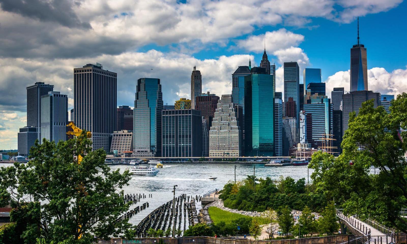 Brooklyn Heights: Der Blick über die Skyline
