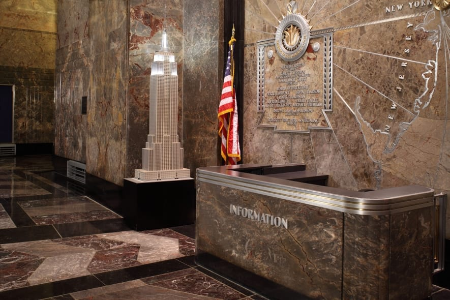 empire state building in new york inkl insider tipps. Black Bedroom Furniture Sets. Home Design Ideas