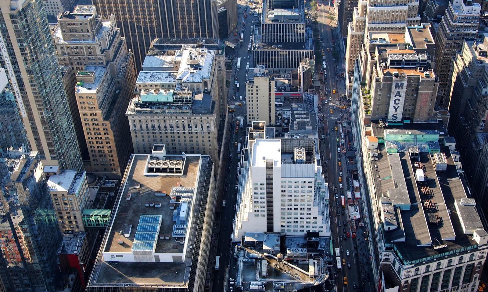 Empire State Building Weihnachten