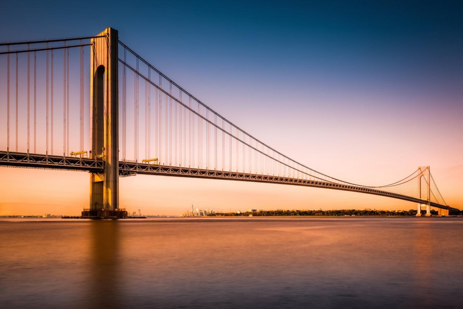Die Staten Island Verrazano-Narrows Bridge