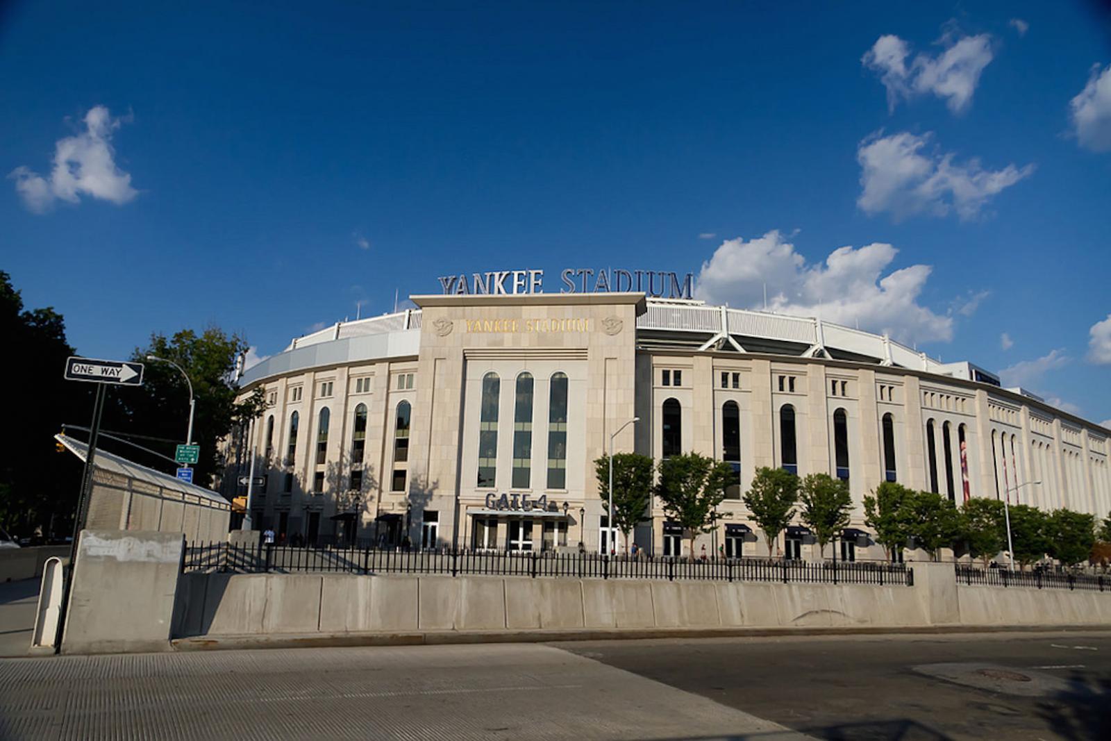 Das Yankee Stadium in der South Bronx