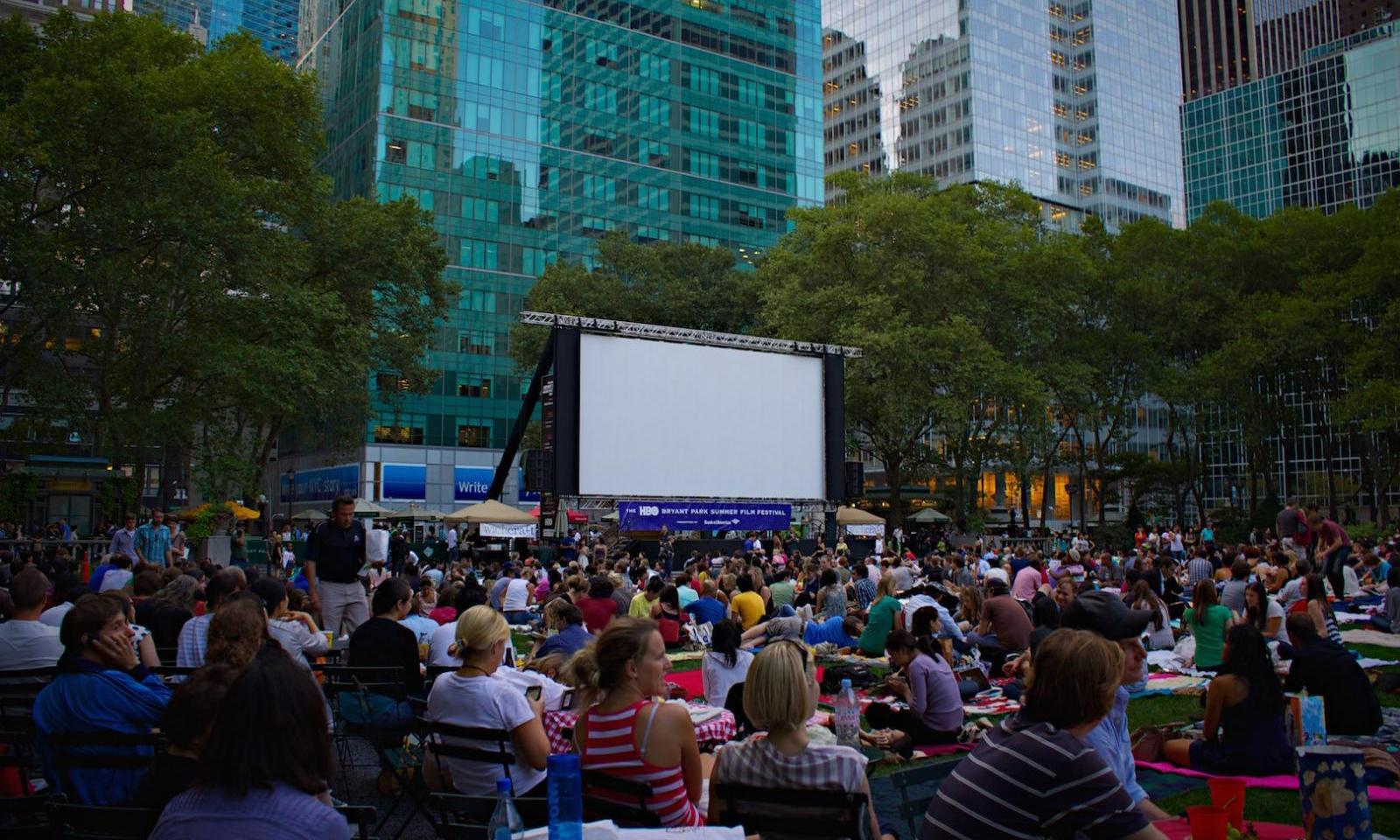Cine al aire libre de Bryant Park: Junio en Nueva York