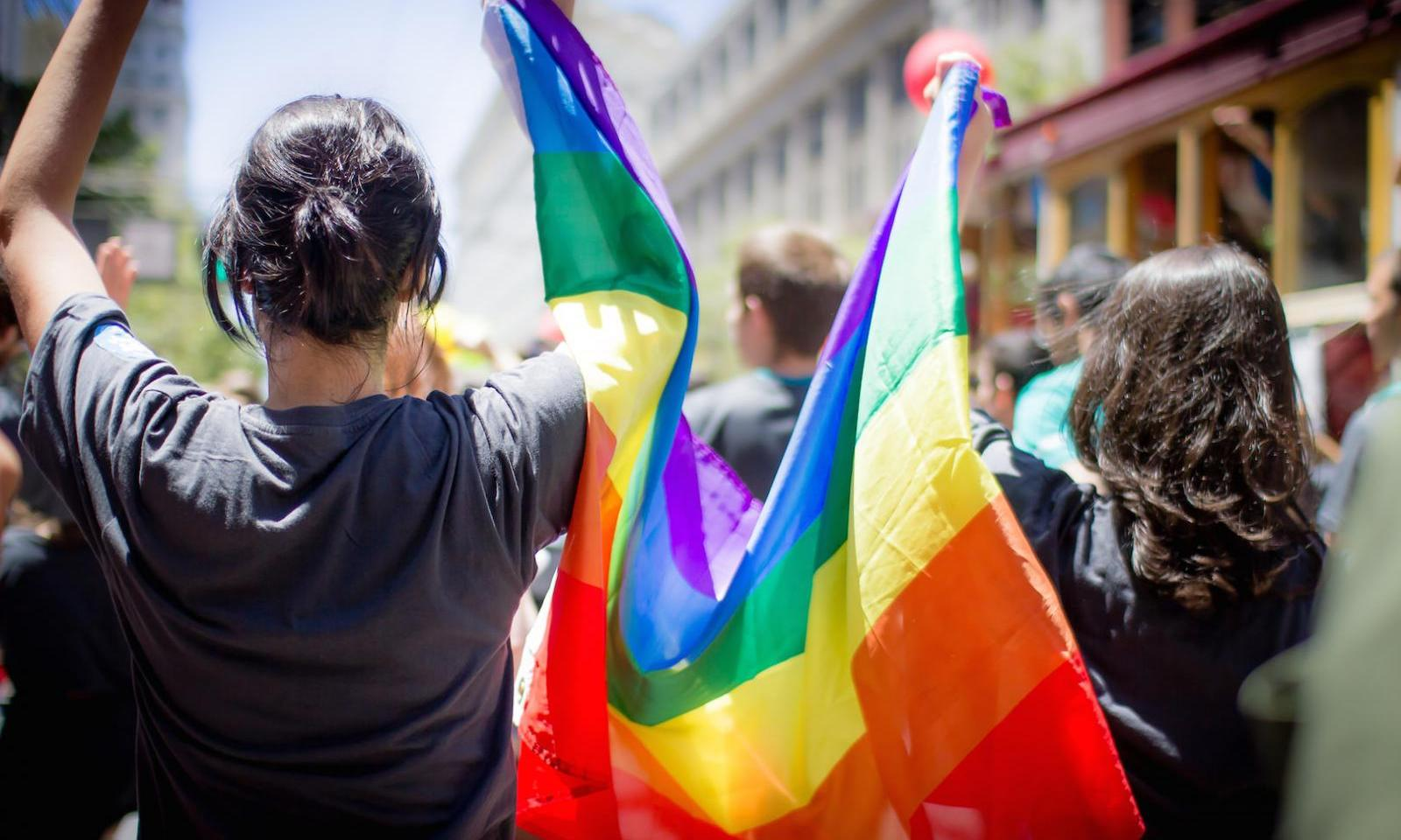 Desfile del orgullo gay en Nueva York