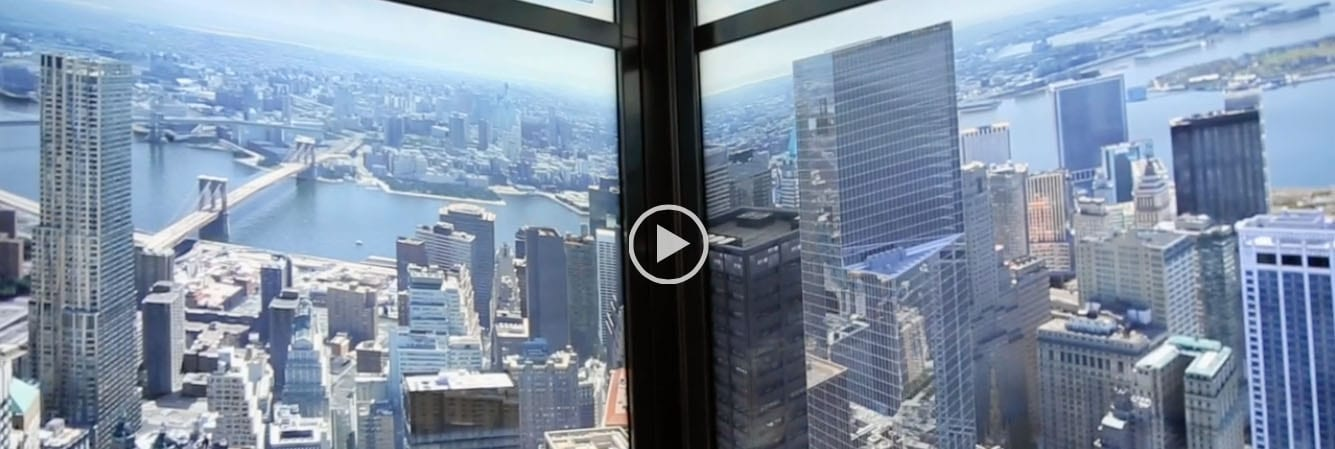 Zeitraffer-Video New York Skyline