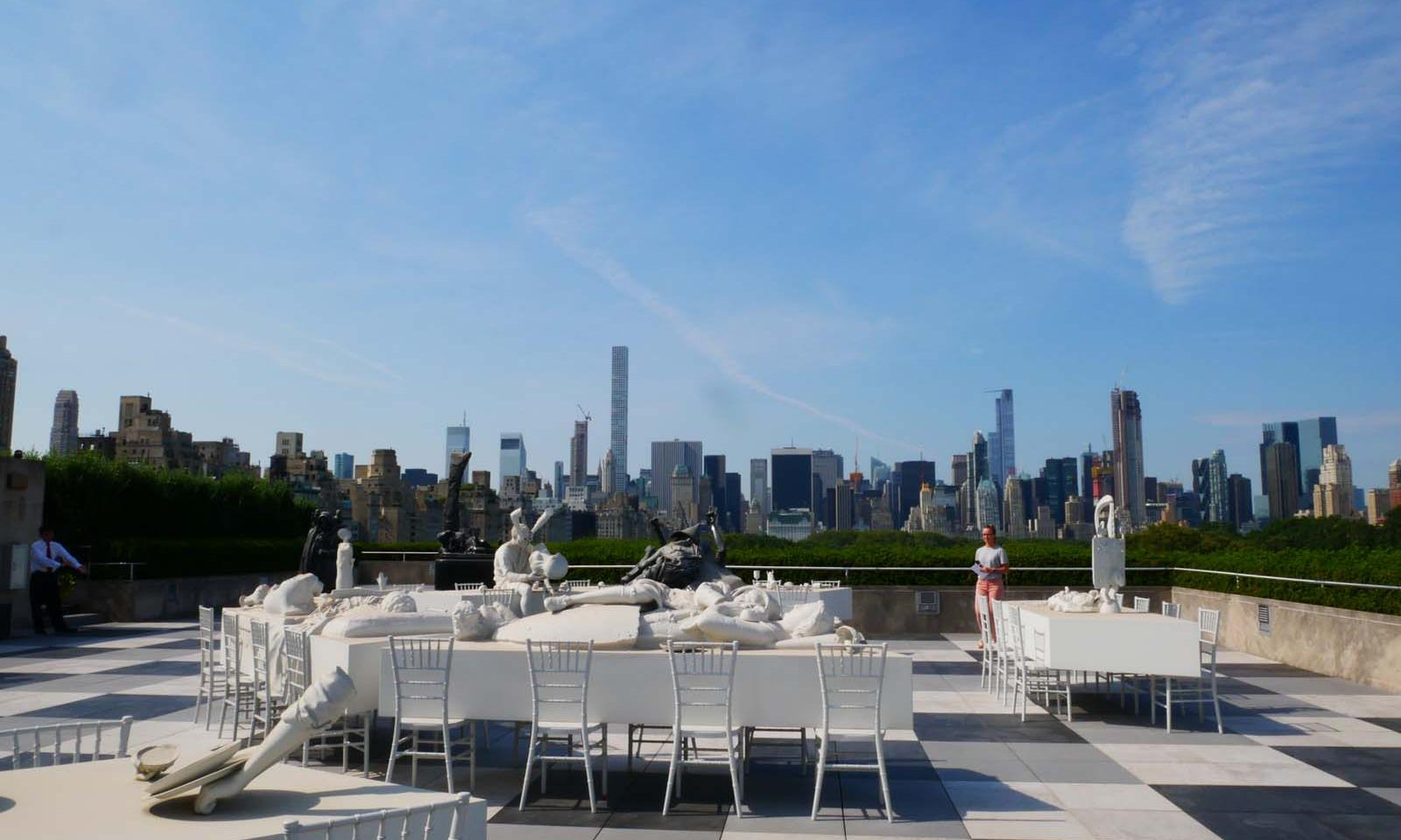 Roof Garden Caf 233 And Martini Bar Im The Met Loving New York