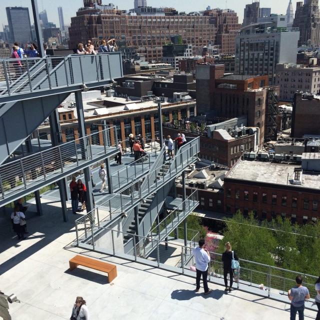 Das Whitney Museum in New York