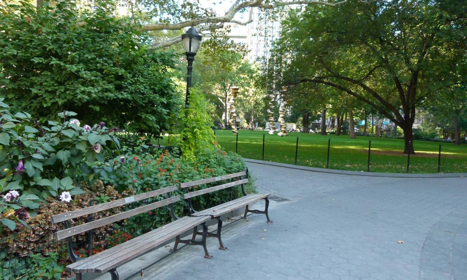madison square park die gr ne oase am flatiron building. Black Bedroom Furniture Sets. Home Design Ideas