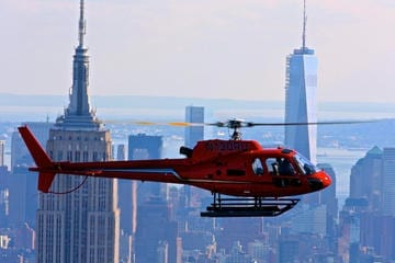 Helicopter Flight over New York
