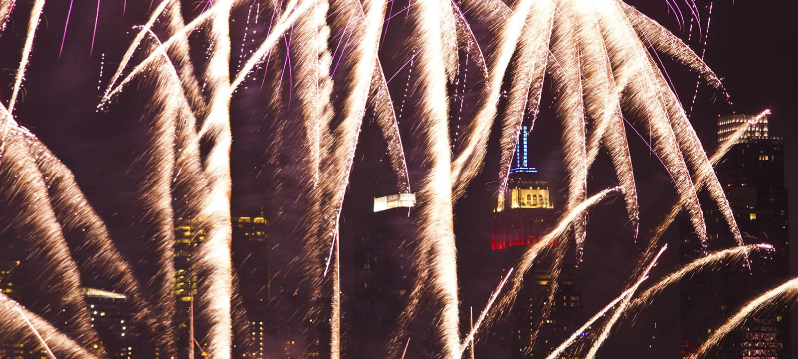 4th of July-Feuerwerks-Bootstour in New York City