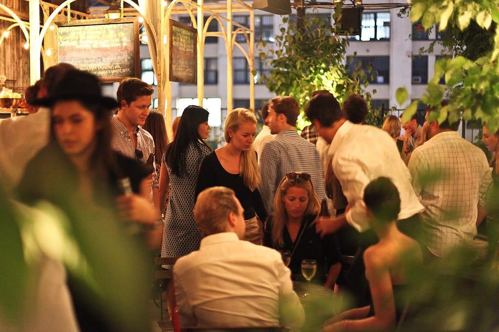 Gallow Green Rooftop Garden New York 11