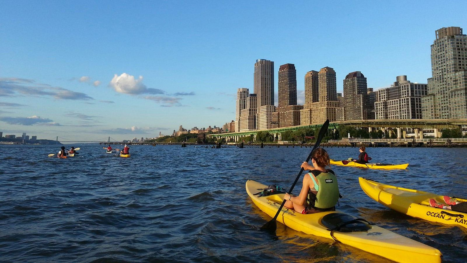 ᐅ Kayak Fahren In New York