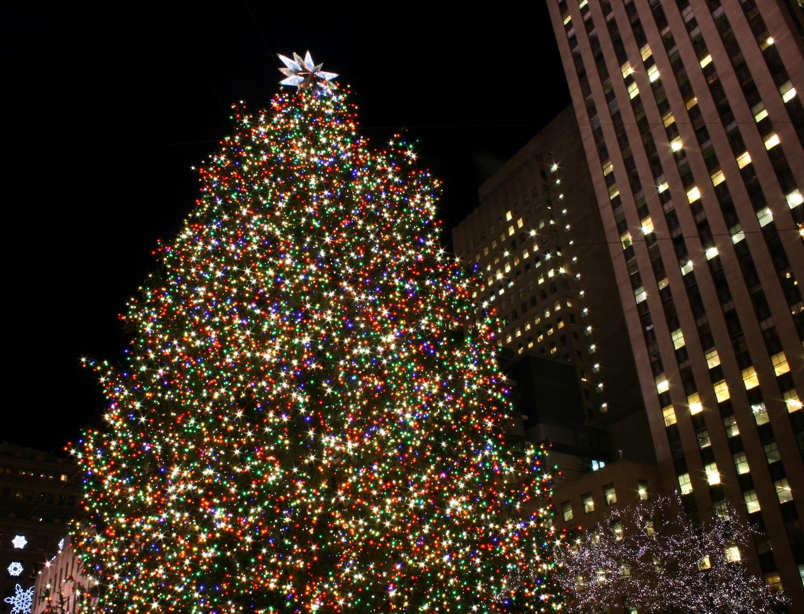 Weihnachtsbaum in New York 2017