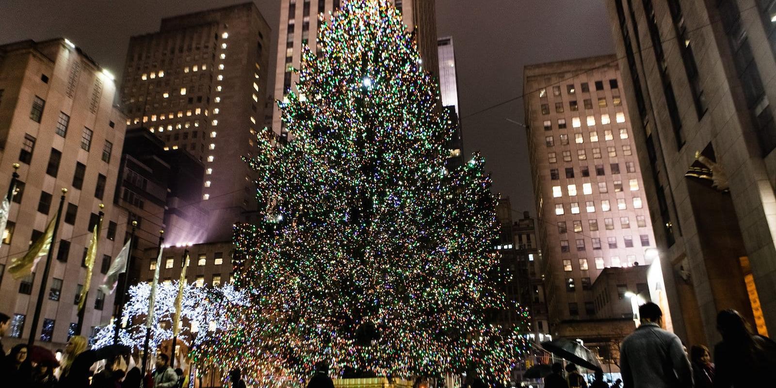 Nyc Christmas Tree Lighting 2019.Rockefeller Christmas Tree 2019