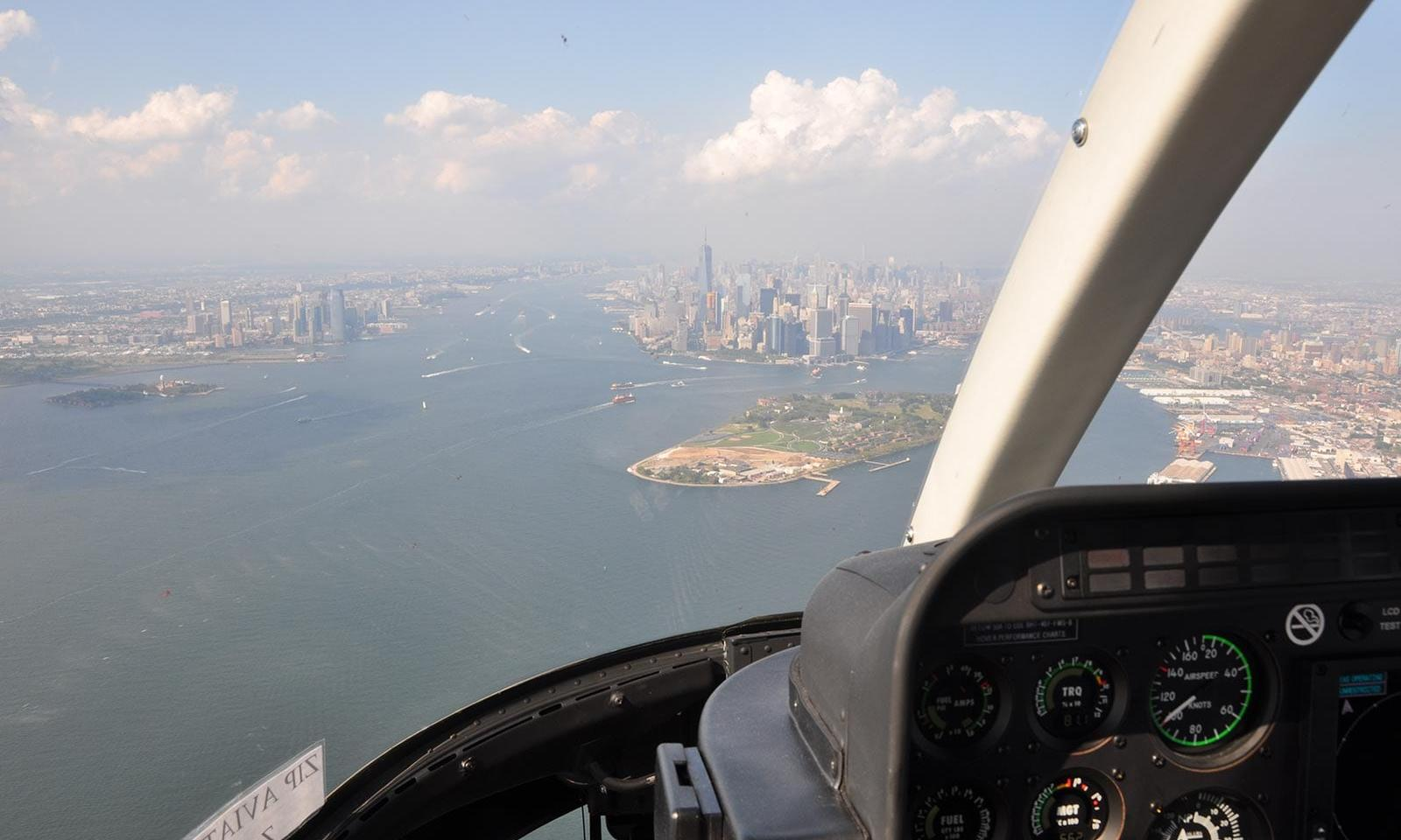 Helikopterflug New York Bilder 08