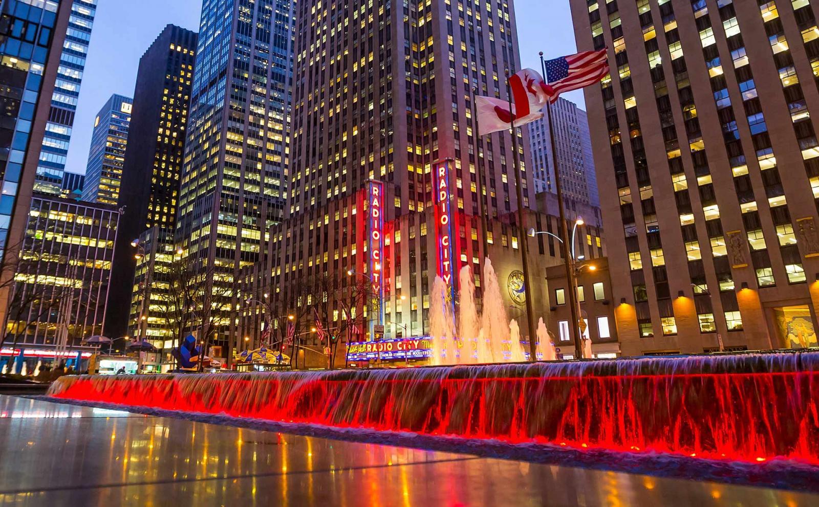 Radio City Hall Manhattan