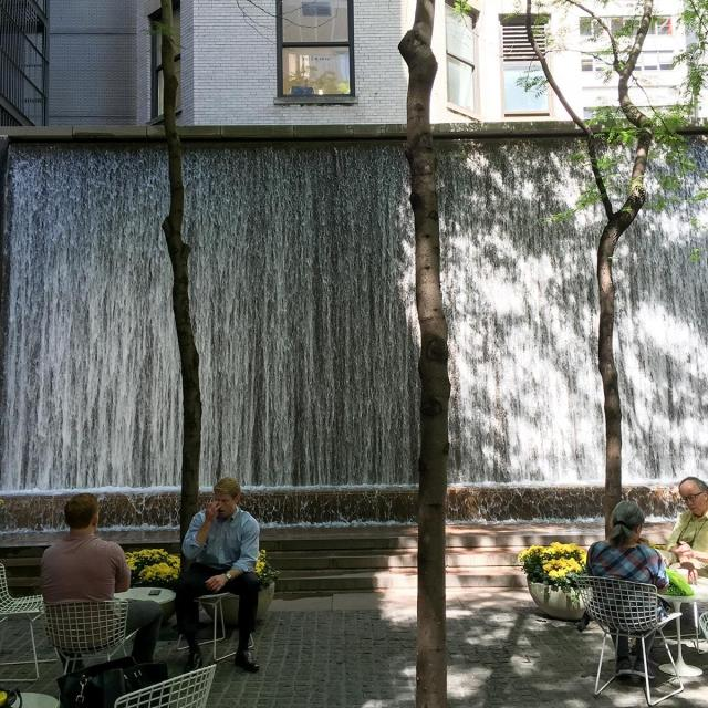 Paley Park in Midtown