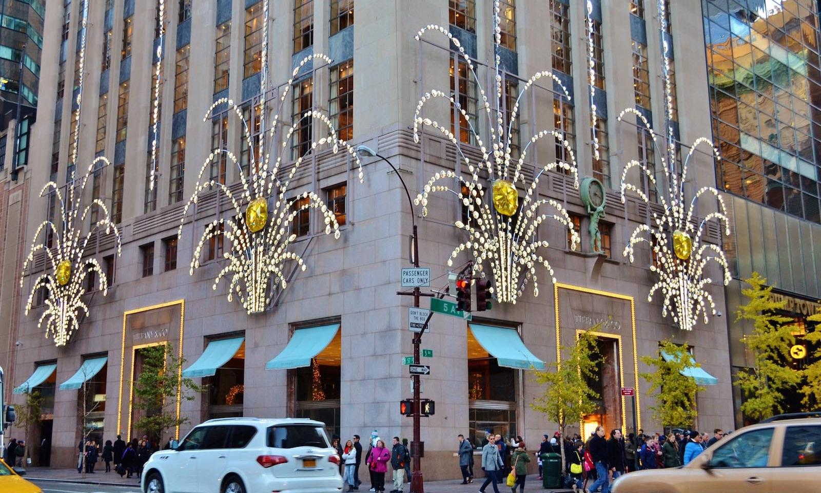 Die 10 beliebtesten orte f r paare in nyc for Tiffany a new york