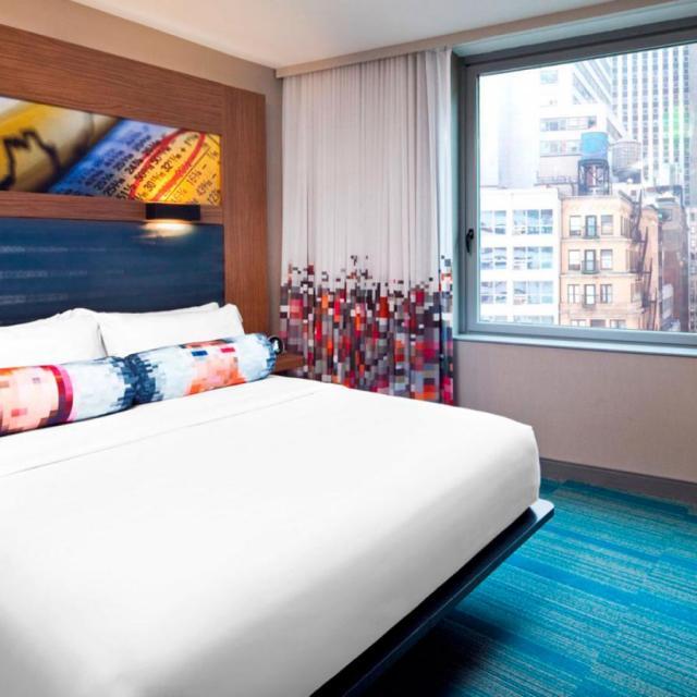 Das Aloft Hotel in Downtown Manhattan