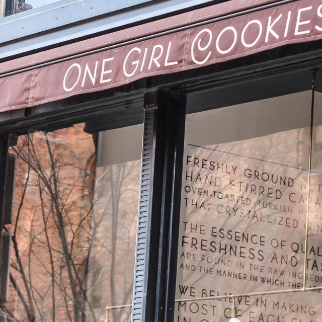 Das One Girl Cookies Café in Dumbo