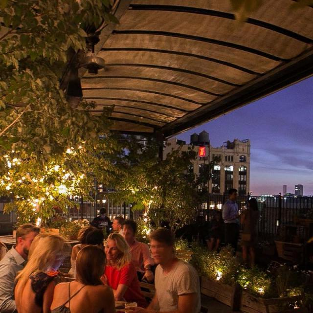 Gallow Green Rooftop Garden New York