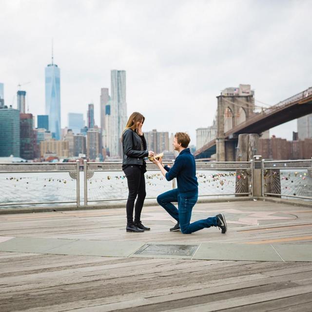 Verlobung und Heiratsantrag in New York