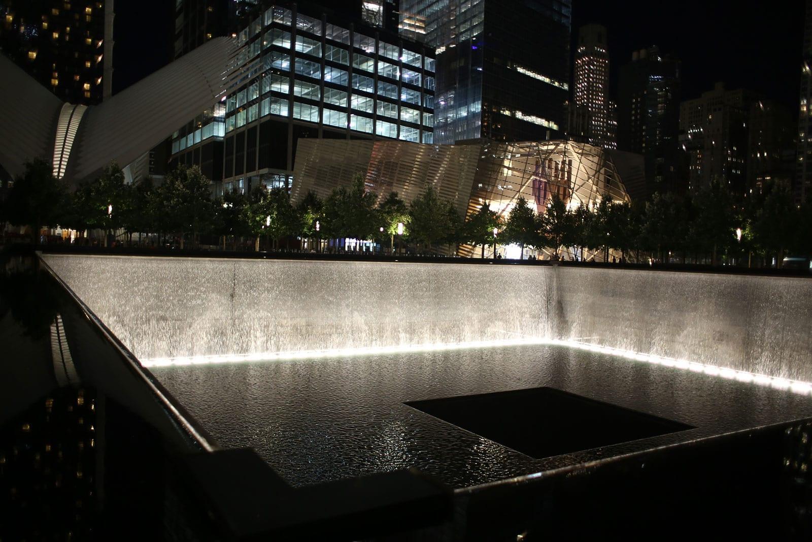 9/11 National Memorial am Ground Zero