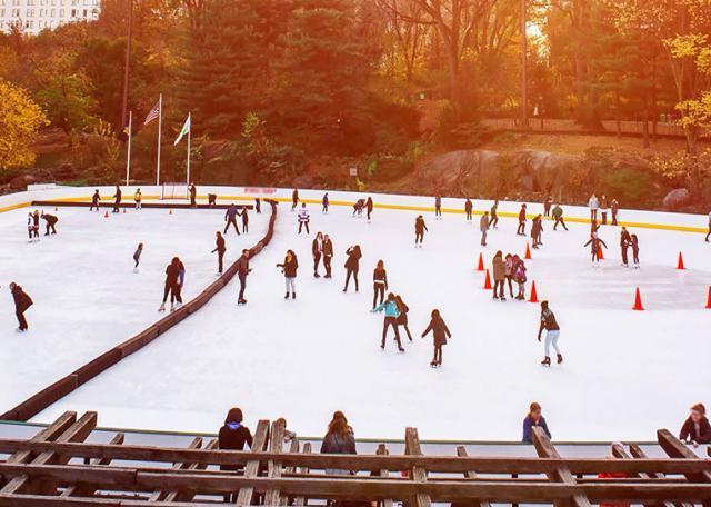 Die besten Eisbahnen in New York