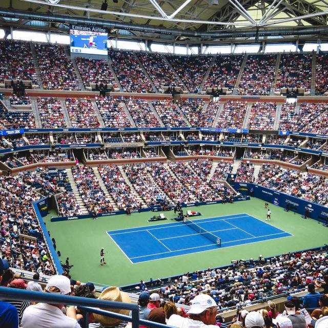 US Open Tennis in New York