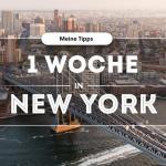 1 Woche New York