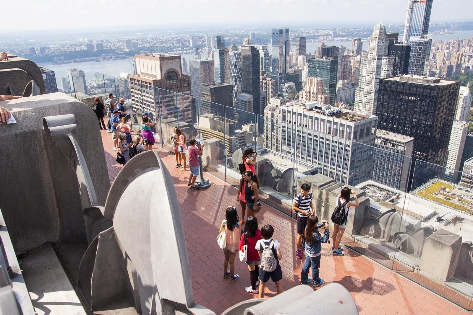 Gute Erfahrungen am Top of the Rock: enthalten im New York Pass, Explorer Pass und auch CityPASS