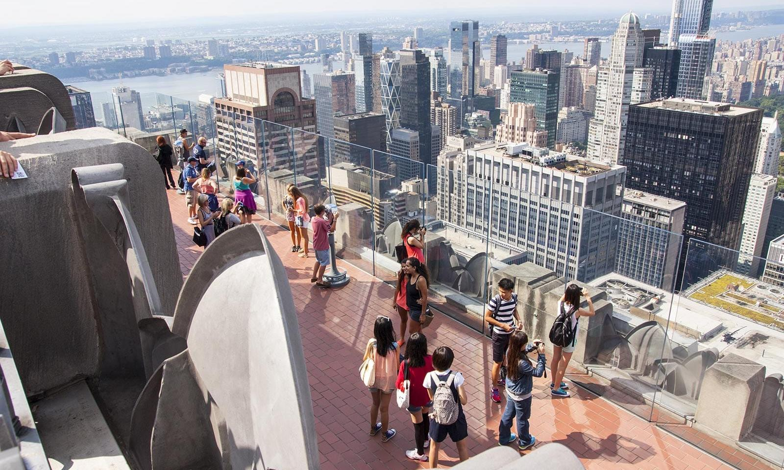 Top of the rock new york budget tipp tickets insider for Top of the rock new york restaurant