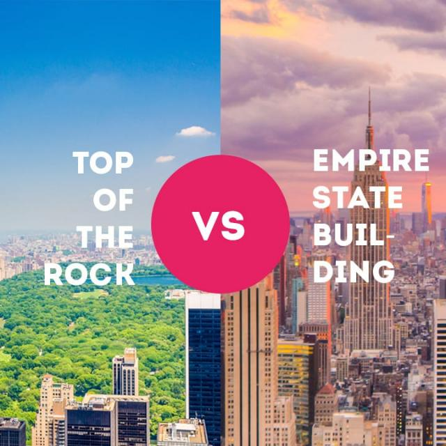 Empire State Building oder Top of the Rock?