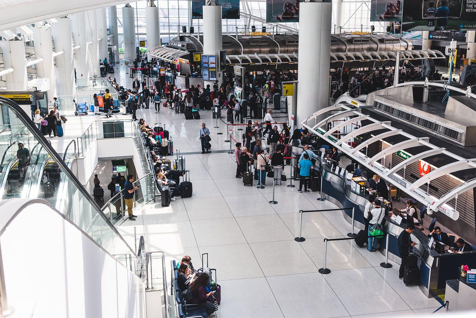 Flughafen New York