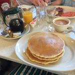 Frühstücken am Times Square
