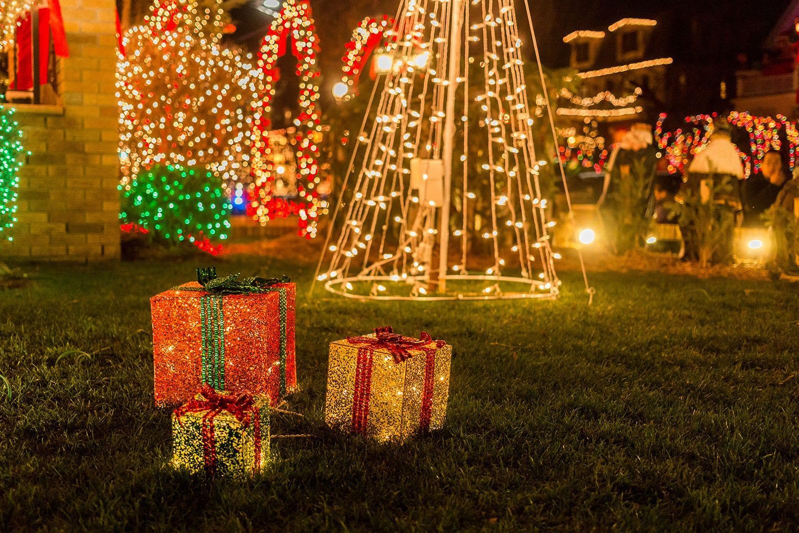 Christmas Lights in Dyker Heights Brooklyn - Best of Weihnachten in NYC