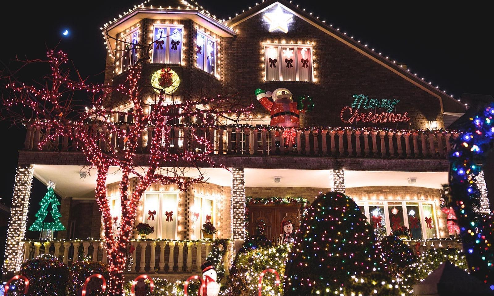 Christmas Lights In Dyker Heights Brooklyn Best Of Weihnachten In Nyc