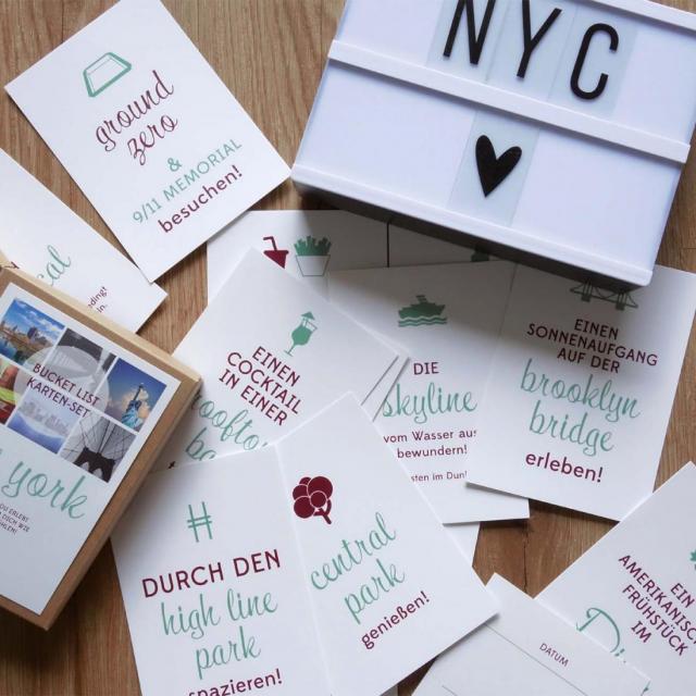 "Postkarten-Set ""Like a local"""