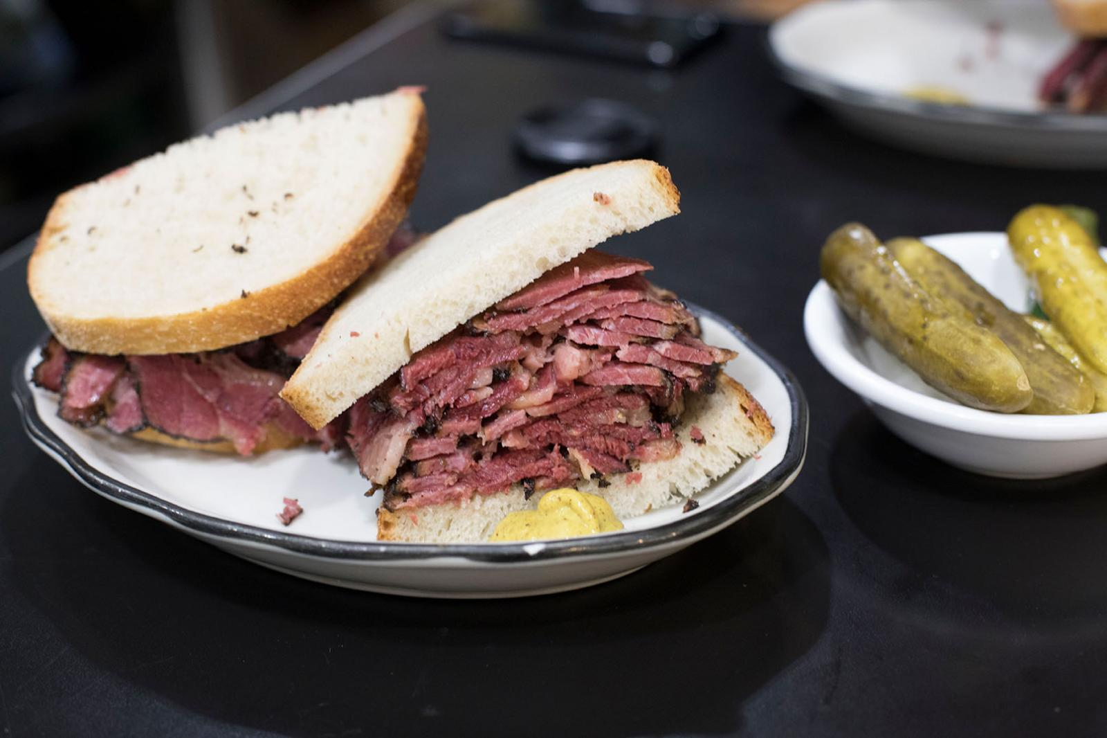 Pastrami Queen Loving New York