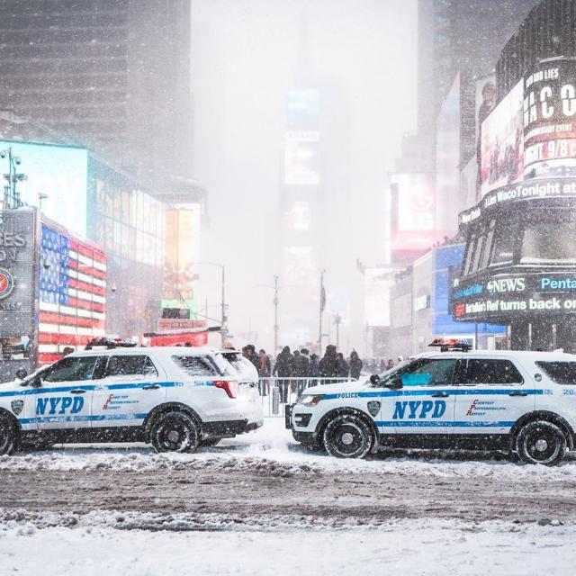 Schneesturm in New York: Die besten Bilder