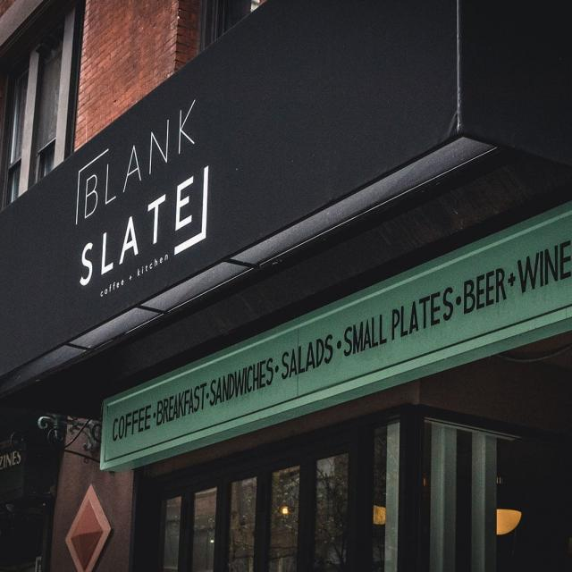 Blank Slate NYC Coffee + Kitchen
