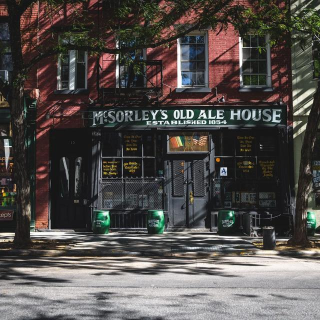 McSorley's Old Ale House New York