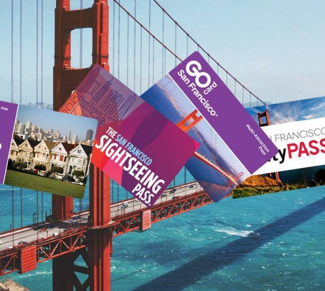 Vergleich vom Explorer Pass, CityPASS, San Francisco Sightseeing Pass & Go City Card