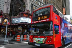Gray Line Hop on Hop off Bus New York