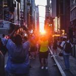 Manhattanhenge in New York