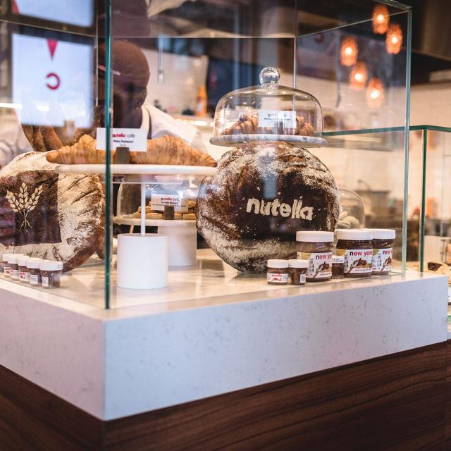 Nutella Cafe in NYC