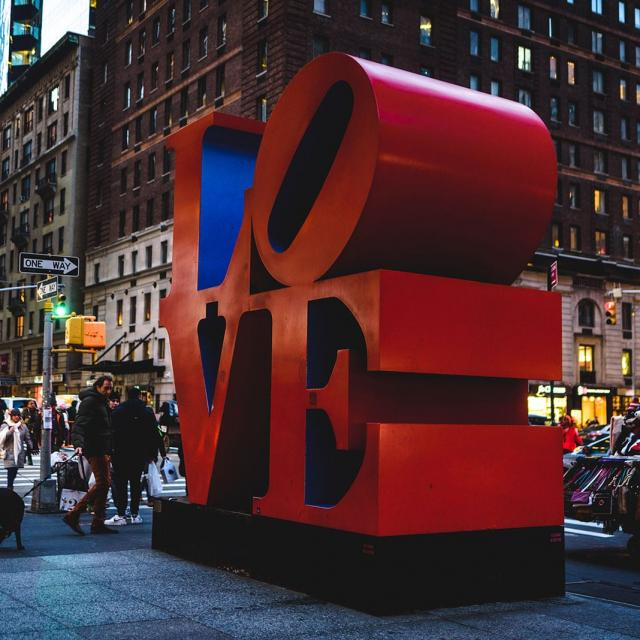 Valentinstag in New York